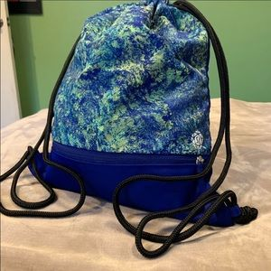 Special edition lululemon Seawheeze drawstring bag